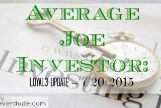 stock market, investing, loyal3