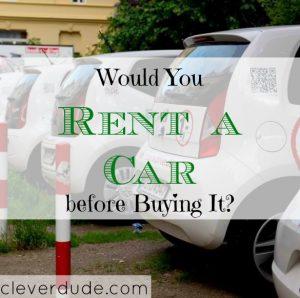 rent a car, purchasing a car, Hertz Rent2Buy program