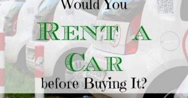 rent a car, purchasing a car, Hertz Rent2Buy program