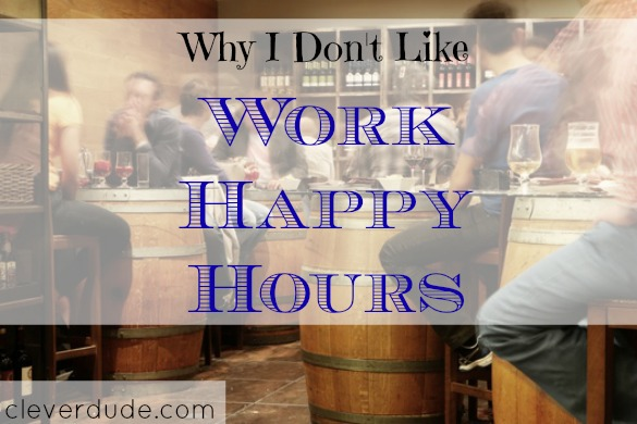 after work activities, happy hour, socializing after work