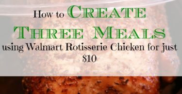 frugal meals, creating meals with rotisserie chicken, thrifty meals