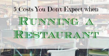 restaurant business, running a restaurant advice, running a restaurant business
