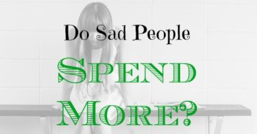 sad people, emotional spending, retail therapy