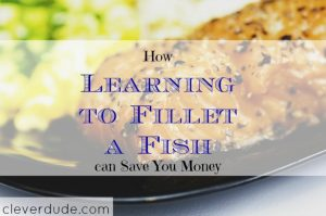filleting a fish, saving money on fish fillet, filleting a fish