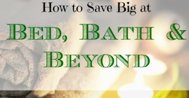 save big at bed bath & beyond, saving money while shopping, shopping tips