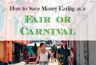 saving money at a carnival, saving money at an amusement park