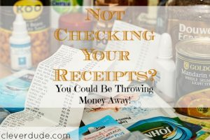 shopping, checking your receipts, receipt