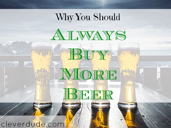beer purchase, frugal living, purchasing groceries