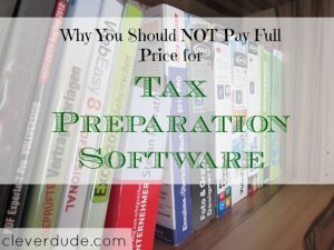 tax preparation software, never pay full price, software