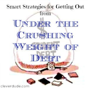 getting out of debt, debt free advice, debt freedom
