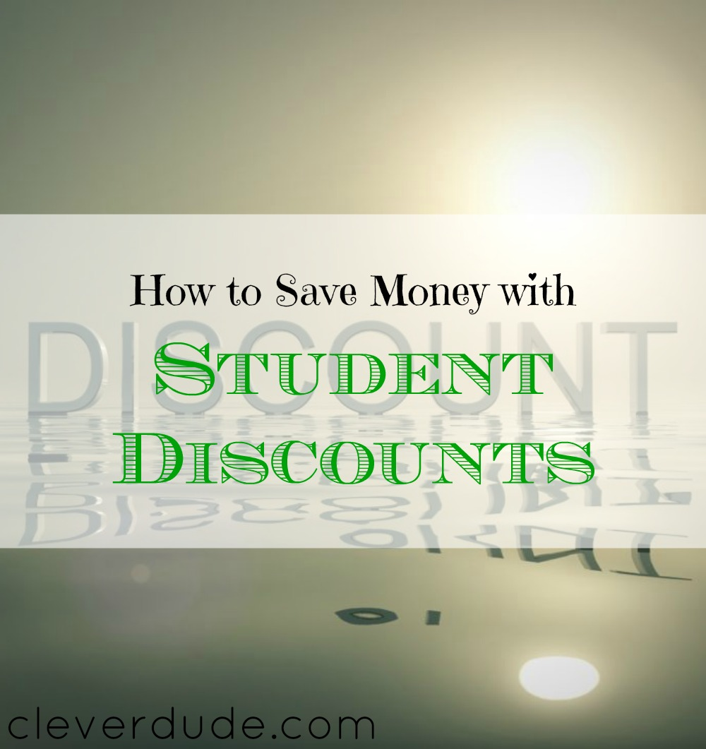 student discount tips, getting student discounts, student discount advice
