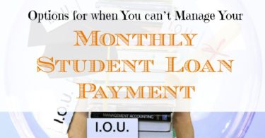 options to manage student loan, student loan options, tips for managing student loans