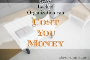 organizational tips, organizational skills, being organized