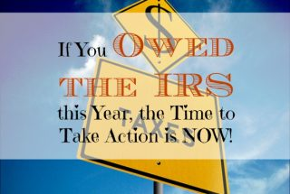 taxes, owing the IRS, owe taxes