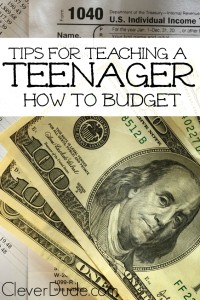 How can you teach a teenager to budget?You can do this simple strategy so that they won't spend their entire paycheck and have nothing left!