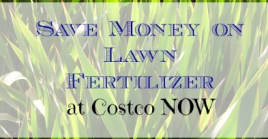 save money, save money on lawn fertilizer, gardening tips