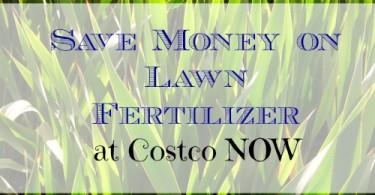 save money, save money on lawn fertilizer, gardening tips
