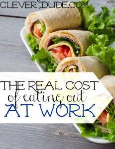 Do you always opt to eat out instead of packing your lunch?Find out the real cost of eating out and how much you actually spend.