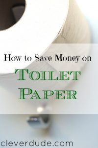 save money on toilet paper, toilet paper tips, cheap toilet paper