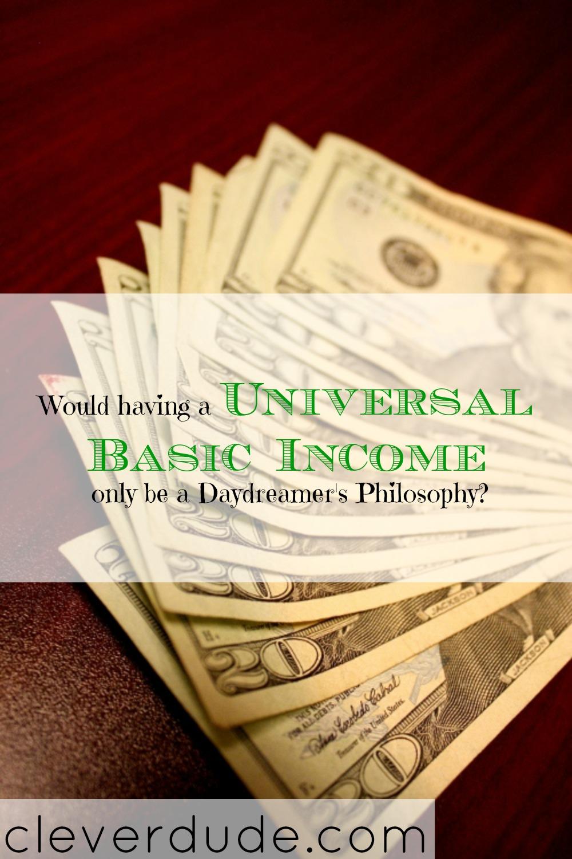 financial talk, money talk, universal basic income