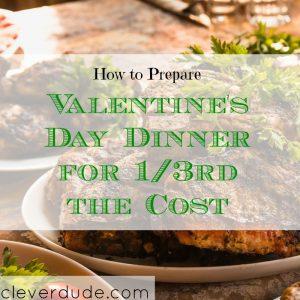 save money on valentine's dinner, valentine's dinner ideas, valentine's dinner tips