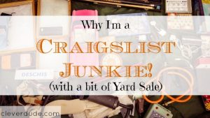 craigslist junkie, having a yard sale, yard sale tips