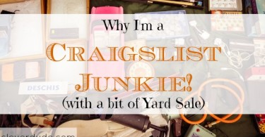 craigslist junkie, having a yard sale, yard sale tips