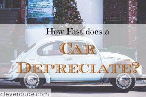 car depreciation, car investment tips, car value