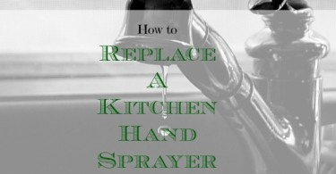 kitchen hand sprayer repair, DIY repair, home repairs