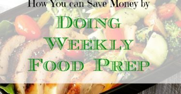 saving money on food prep, food prepping, weekly food prep